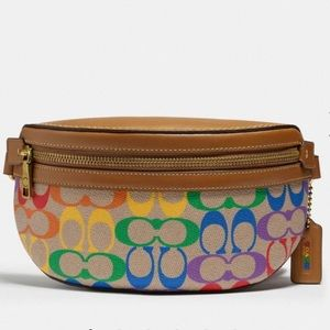 Coach Bethany Belt Bag Pride Rainbow collection